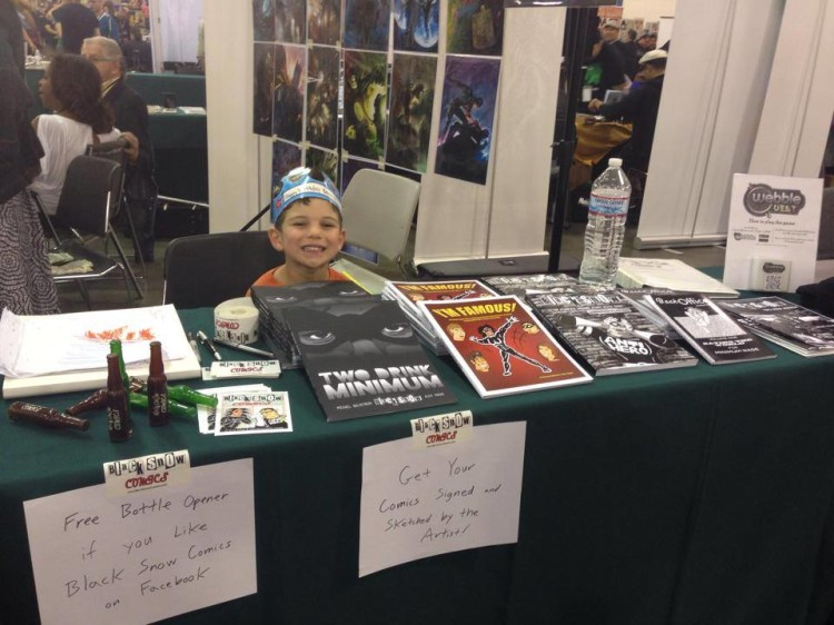 Bennett at Big Wow! ComicFest