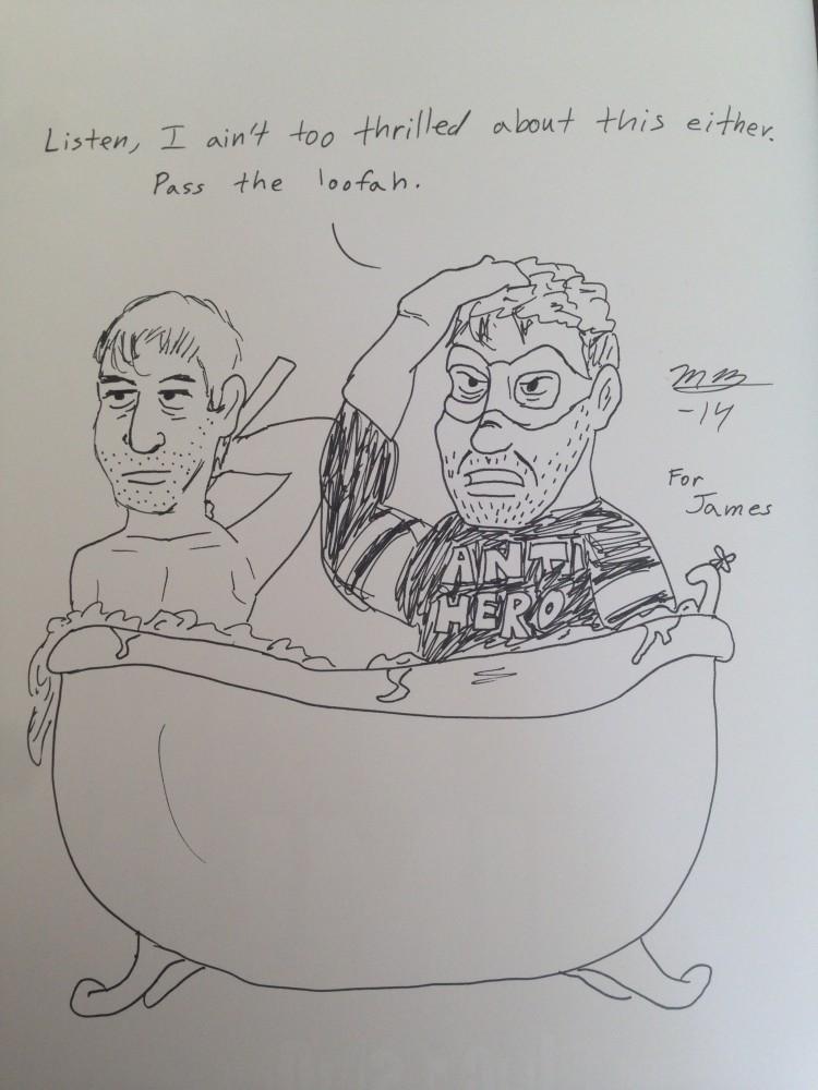 Black Snow in the tub