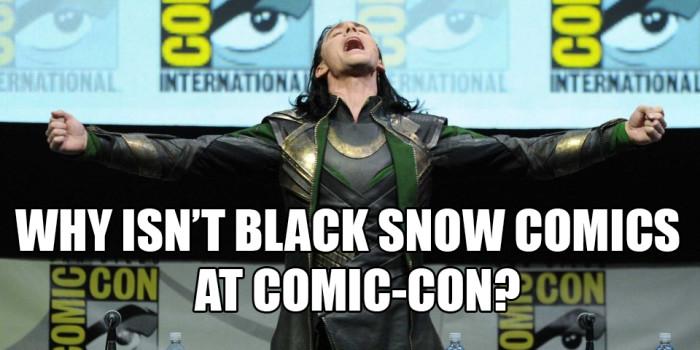 Loki at Comic-Con