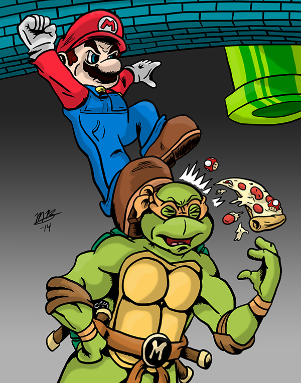 Mario vs. Michelangelo