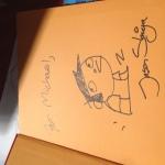 Jason Shiga autograph