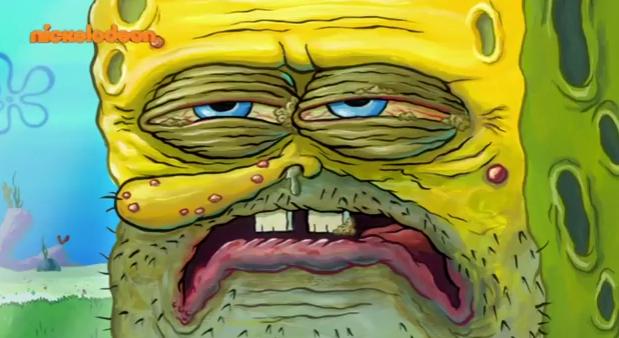 Spongebob Squarepantes close up