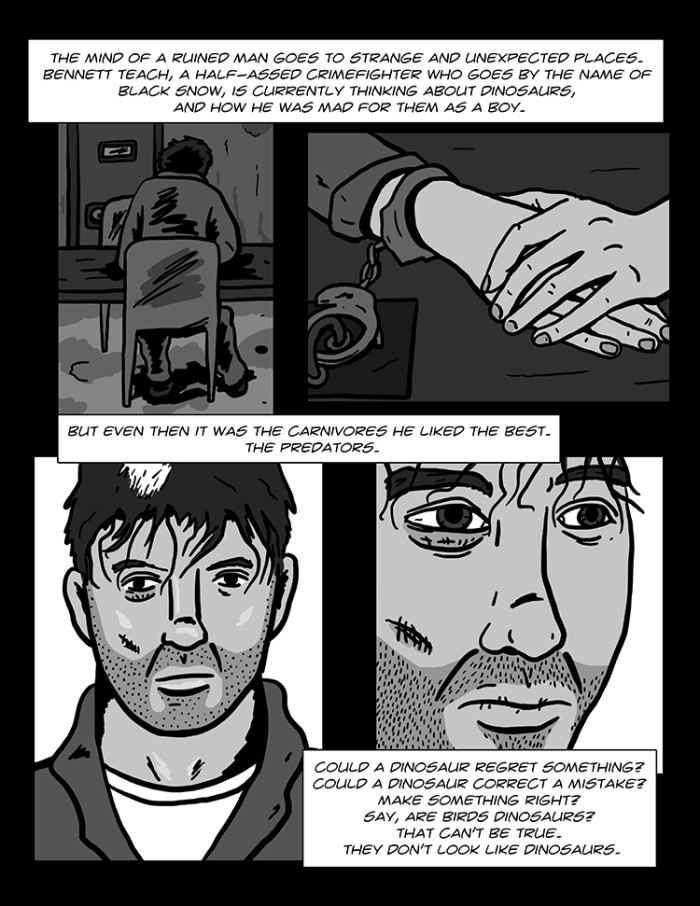 Black Snow: Another Round page 1