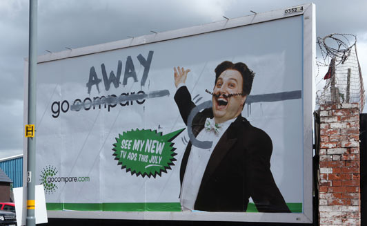 graffiti ad