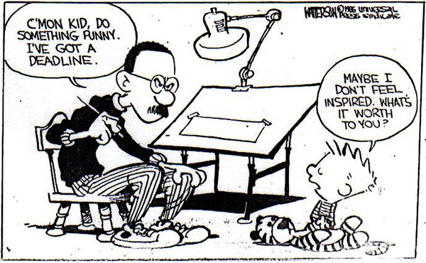 Bill Watterson Calvin and Hobbes