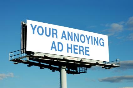 annoying ad