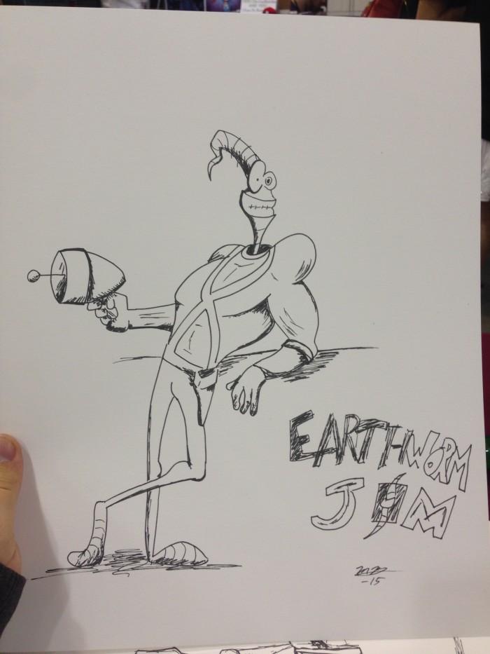 Earthworn Jim sketch