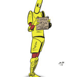 Scud drawing in color