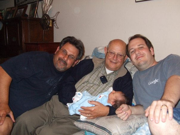 four generations of Balistreri men