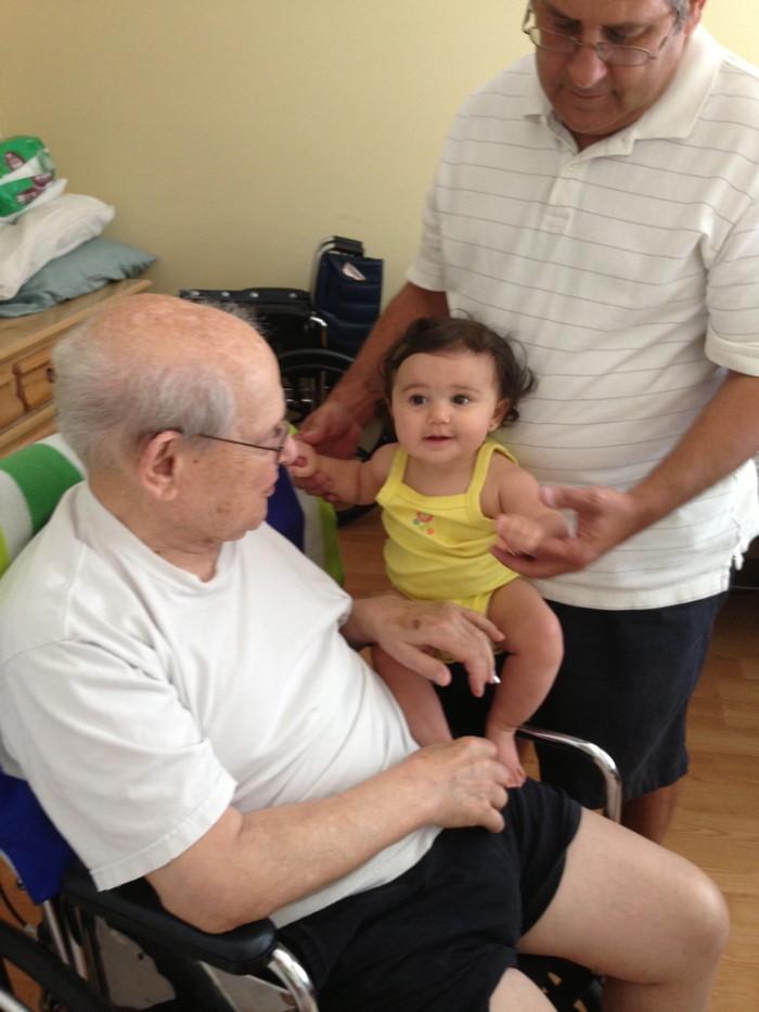 Grandpa and Juliana
