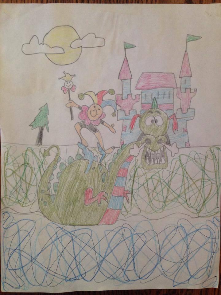 my dragon drawing