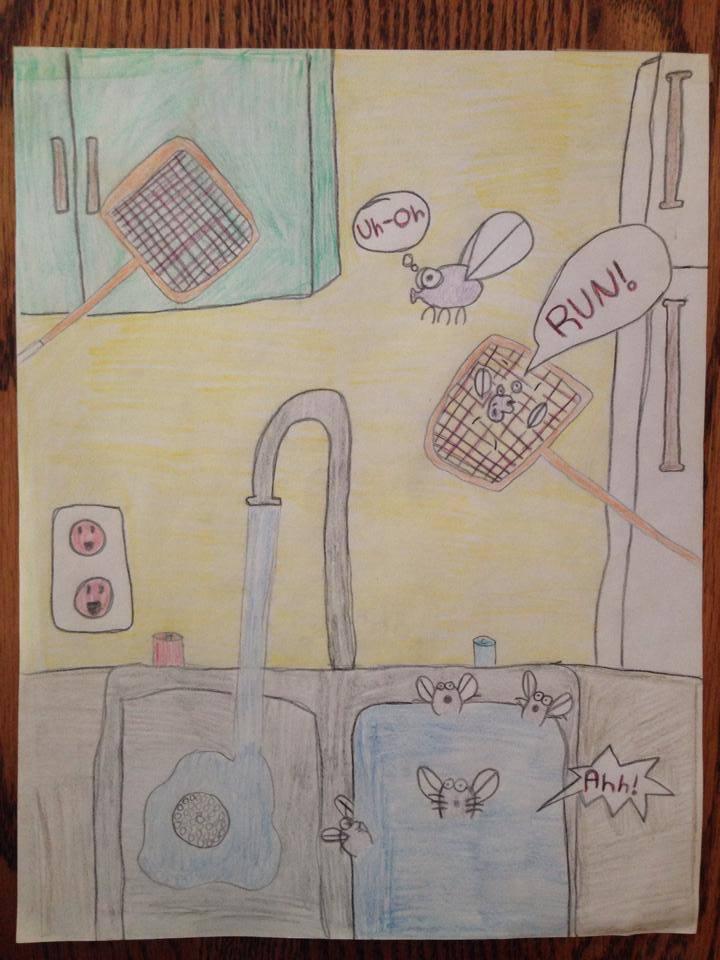 my fly comic