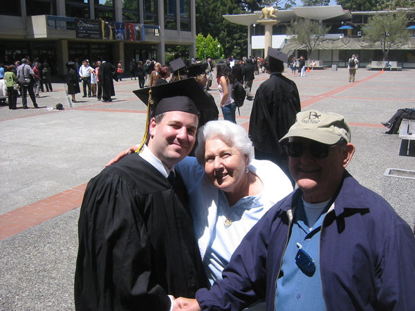 grandparents at graduation