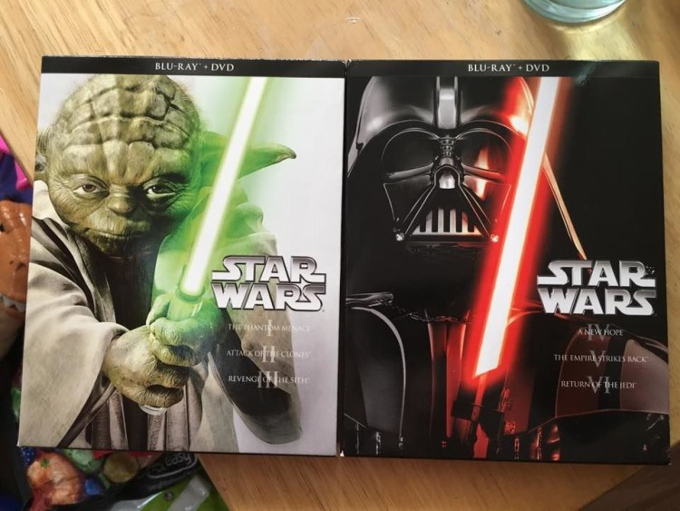 Star Wars dvd blu ray box set