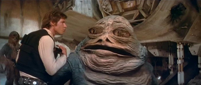 Star Wars new scene
