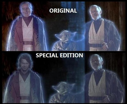 original vs special editions