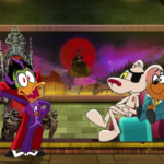 Count Duckula on the New Danger Mouse series