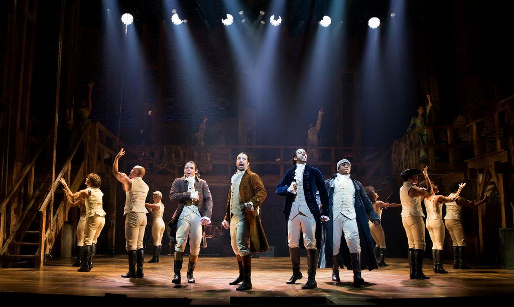 Hamilton Broadway Cast