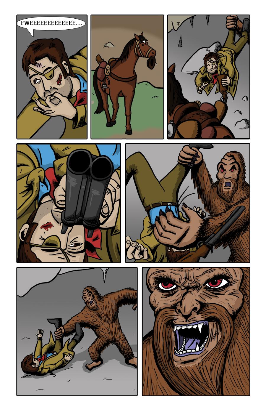 Paranormal Pinkerton #0 page 10