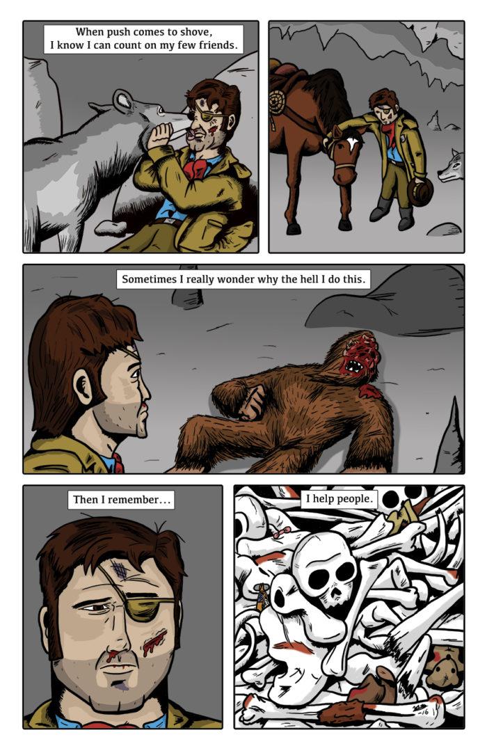 Paranormal Pinkerton #0 page 12