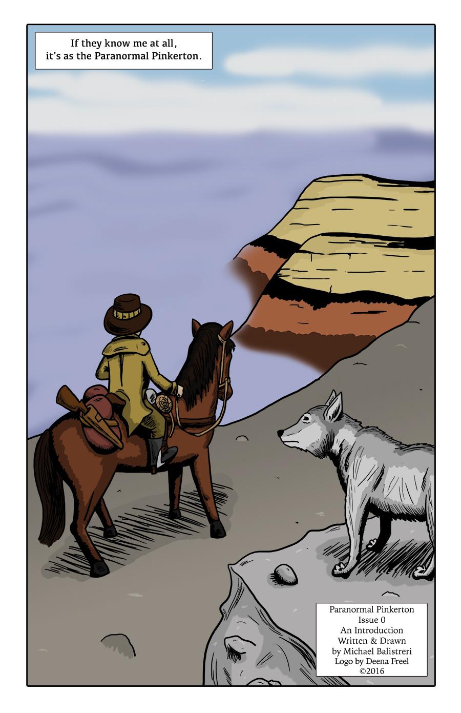 Paranormal Pinkerton #0 page 2