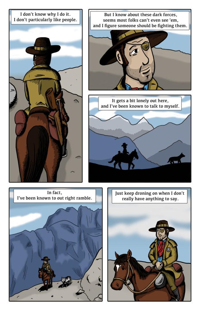 Paranormal Pinkerton #0 page 4
