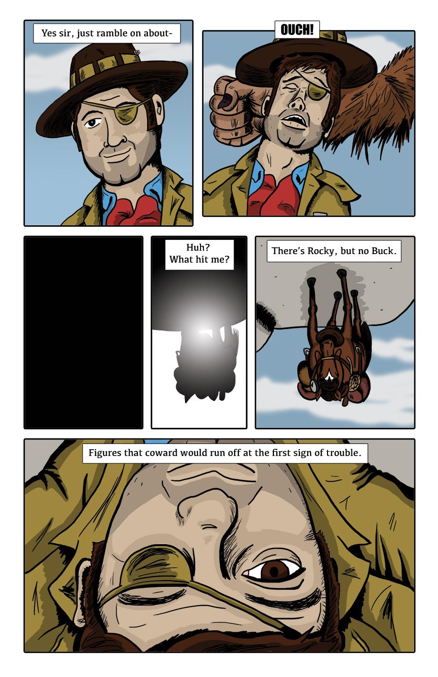 Paranormal Pinkerton #0 page 5