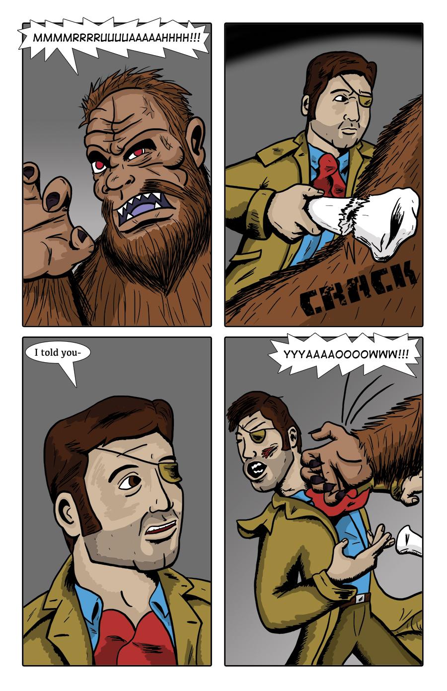 Paranormal Pinkerton #0 page 8