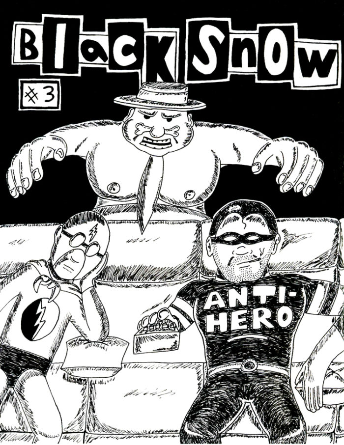 Black Snow Issue 3 cover