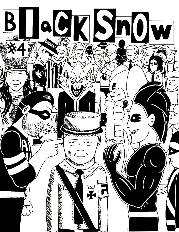 Black Snow Issue 4 cover