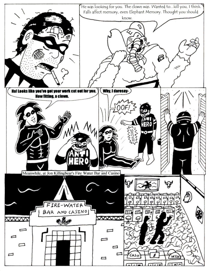 Black Snow Issue 4 page 13