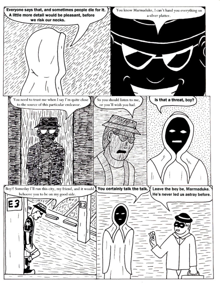 Black Snow Issue 4 page 18