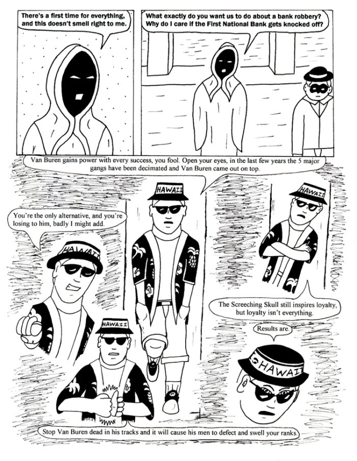 Black Snow Issue 4 page 19