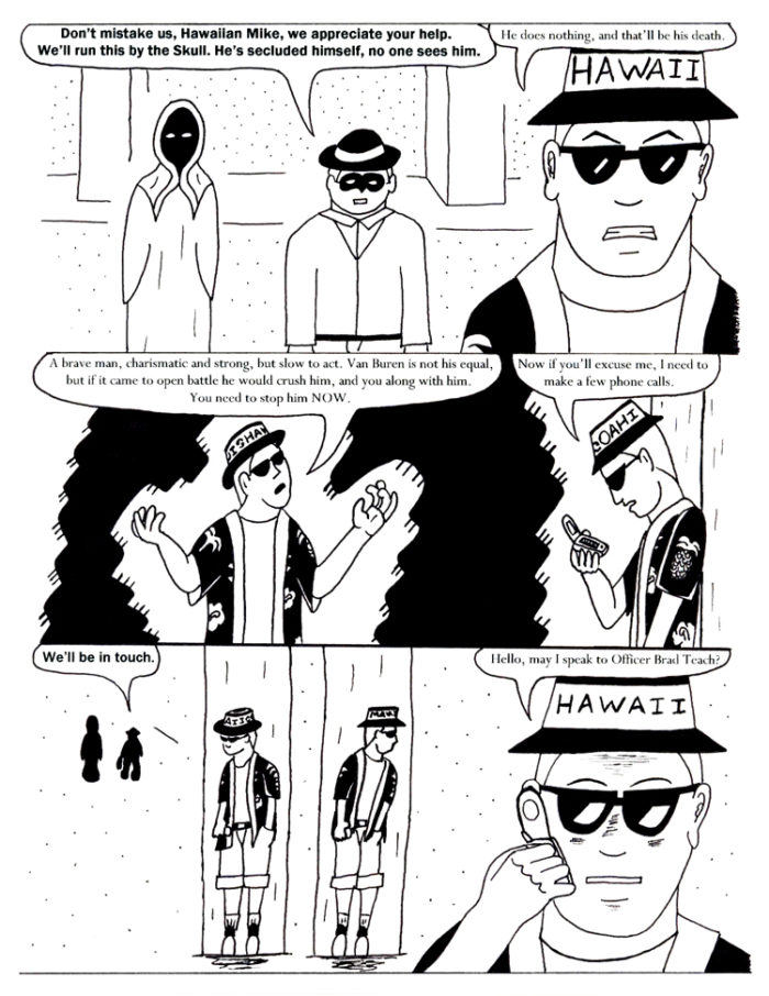 Black Snow Issue 4 page 20