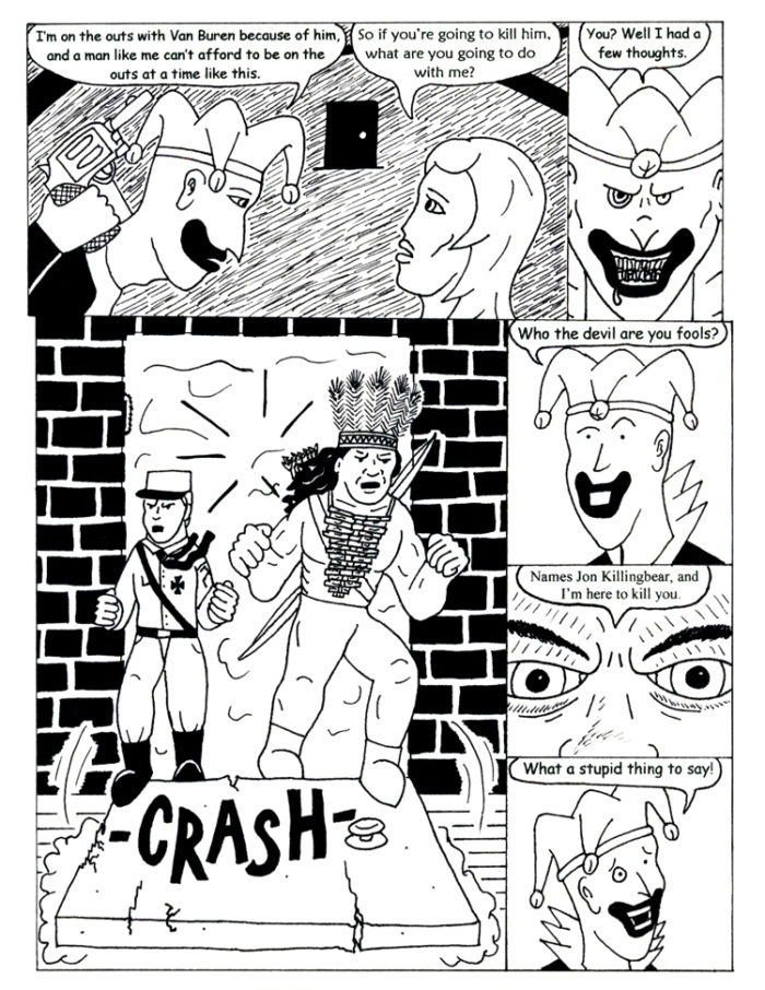 Black Snow Issue 4 page 28