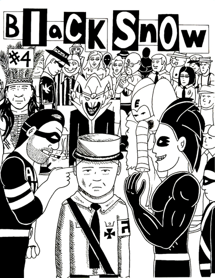 Black Snow Issue 4