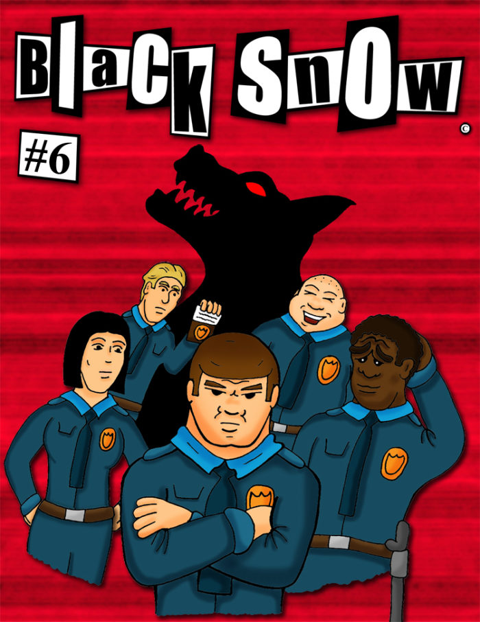 Black Snow Issue 6 cover