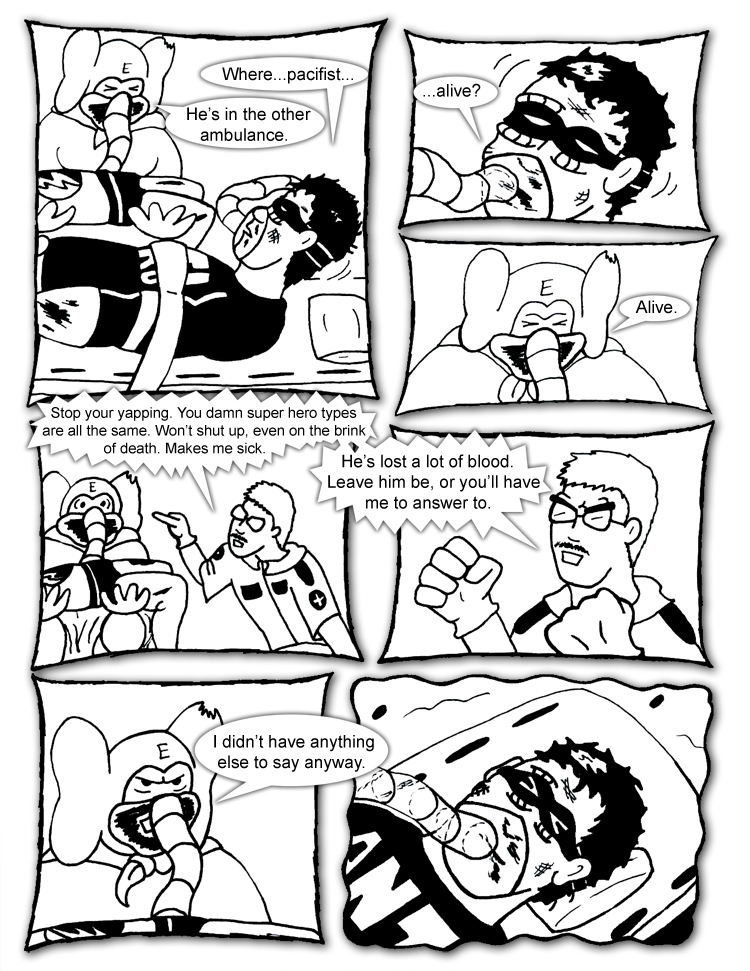 Black Snow Issue 6 page 3