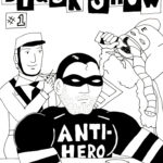 Black Snow Issue 1 cover