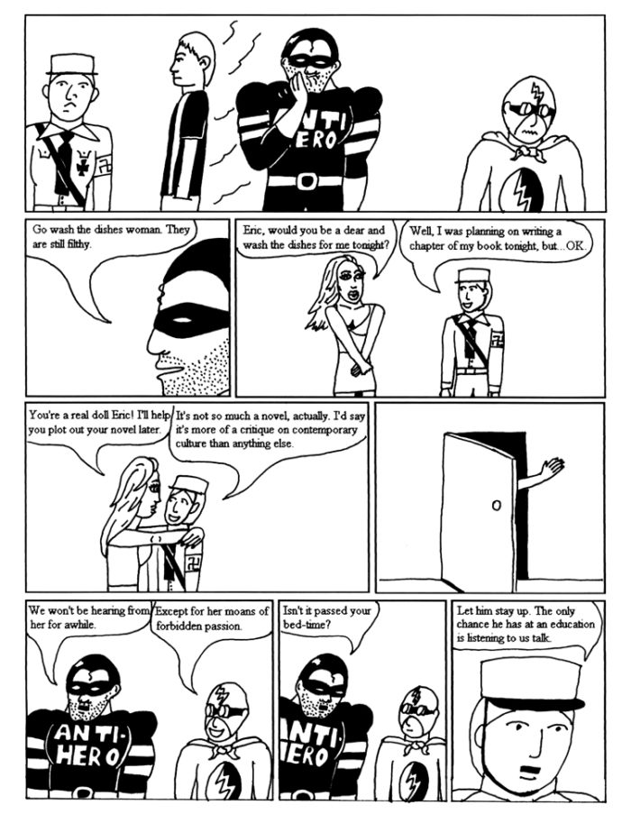 Black Snow Issue 1 page 12