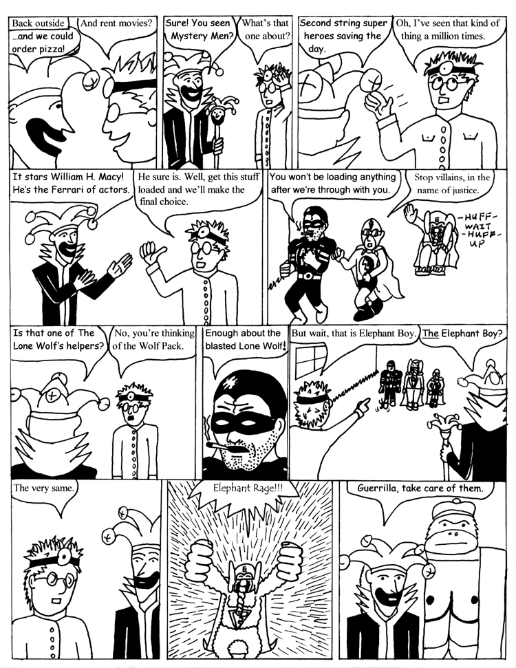 Black Snow Issue 1 page 20