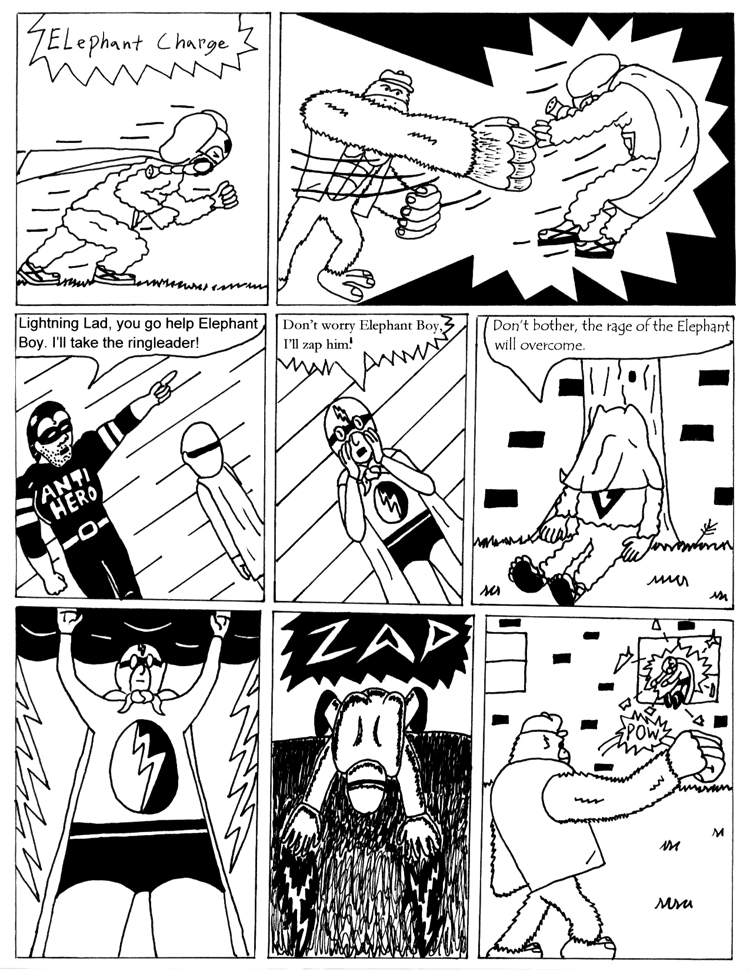 Black Snow Issue 1 page 21