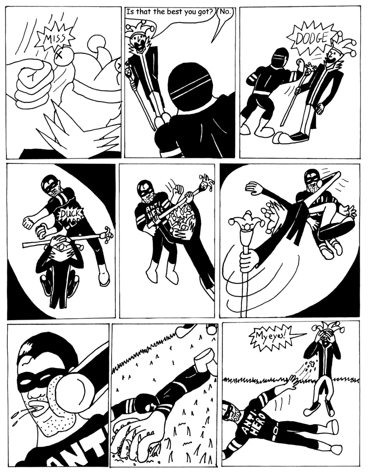 Black Snow Issue 1 page 22