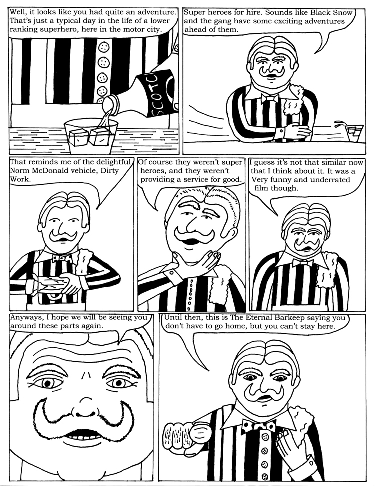 Black Snow Issue 1 page 30