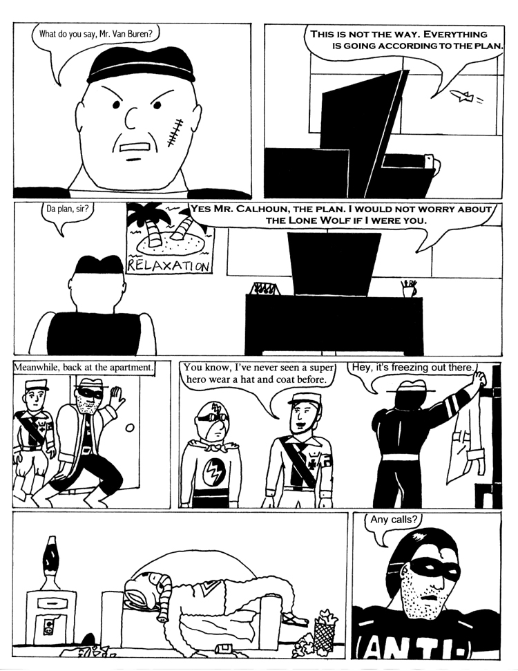 Black Snow Issue 1 page 9