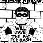 Black Snow Issue 2 cover