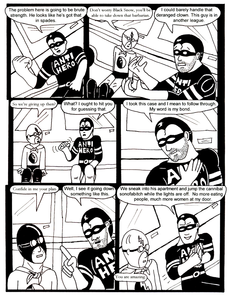 Black Snow Issue 2 page 26