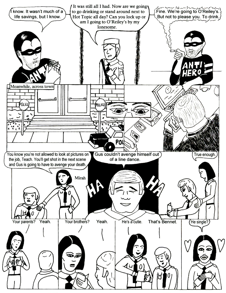 Black Snow Issue 2 page 8