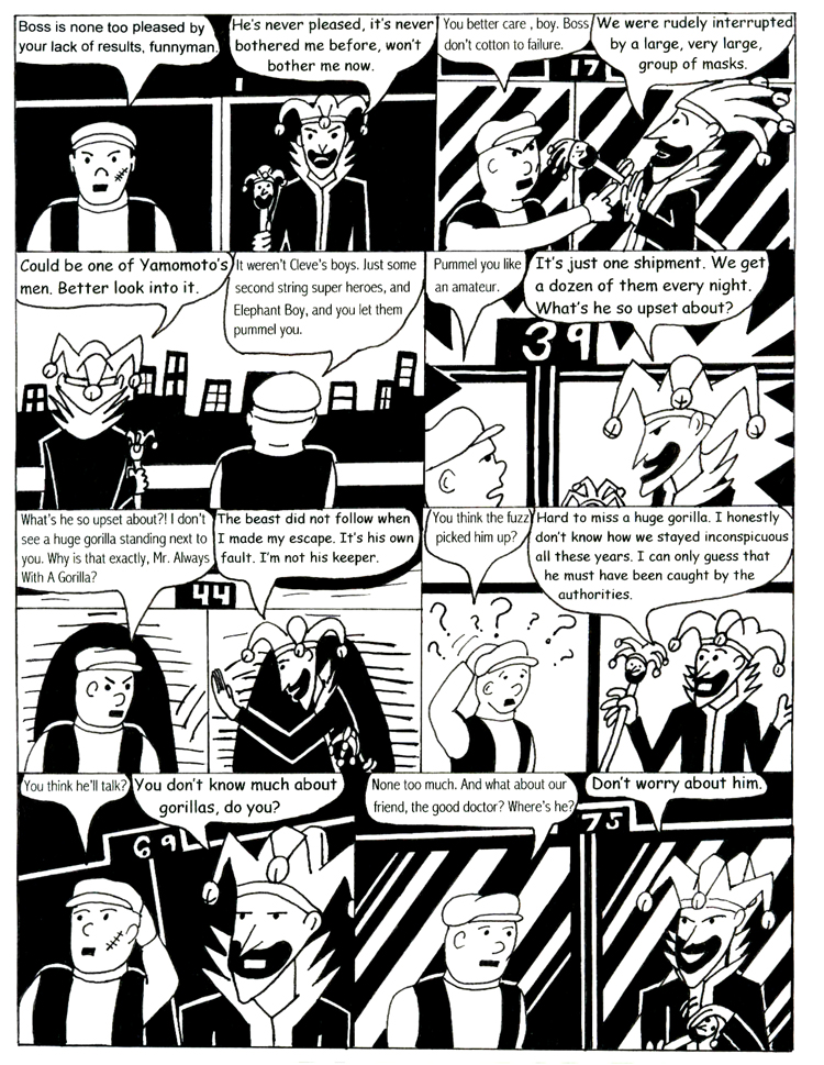 Black Snow Issue 2 page 1
