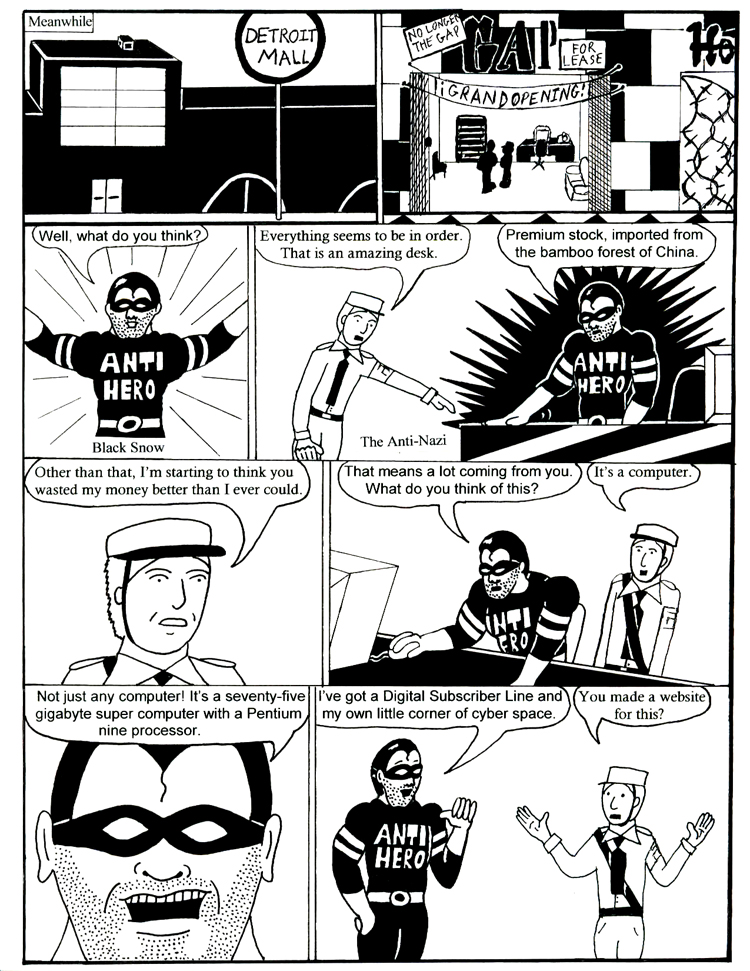 Black Snow Issue 2 page 5